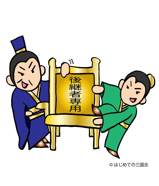 後継者争い 劉協と劉弁