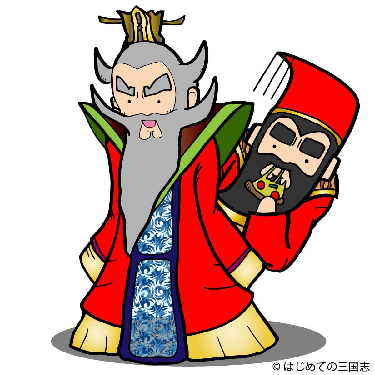 張昭 VS 孫権