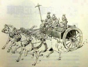 古代の戦車