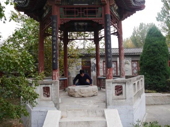 涿州張飛廟 井戸