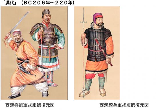 中国古代軍閥服装 引用