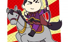 虎豹騎を率いる曹休