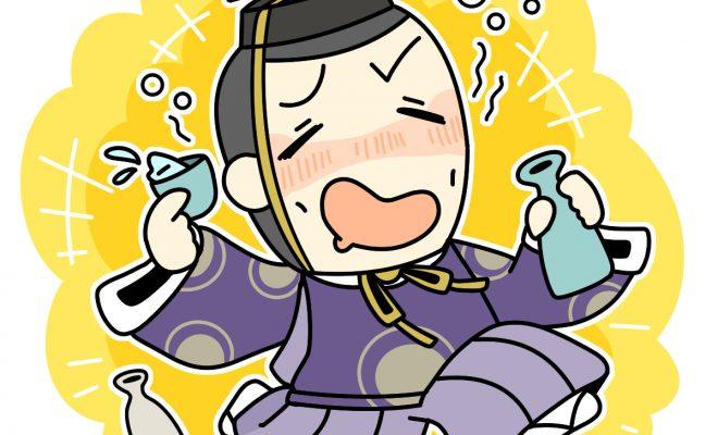酒乱の徳川慶喜