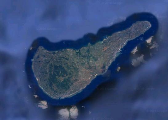 沖永良部島map