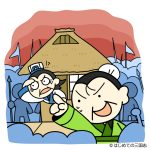3000人の配下で孔明の庵を包囲する武闘派な劉備
