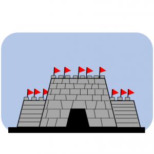 偽の一夕城を築いて曹丕を退却させる