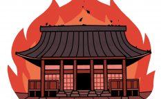 燃える本能寺