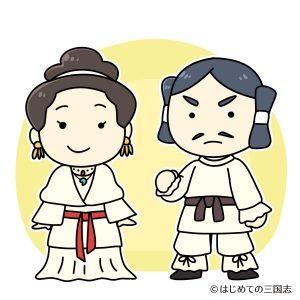 古墳時代服装男女(弥生)