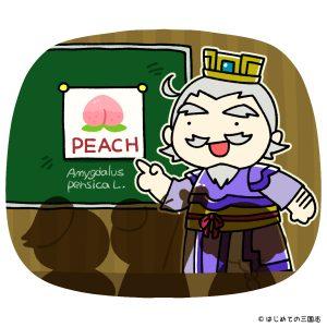 生徒に勉強を教える盧植