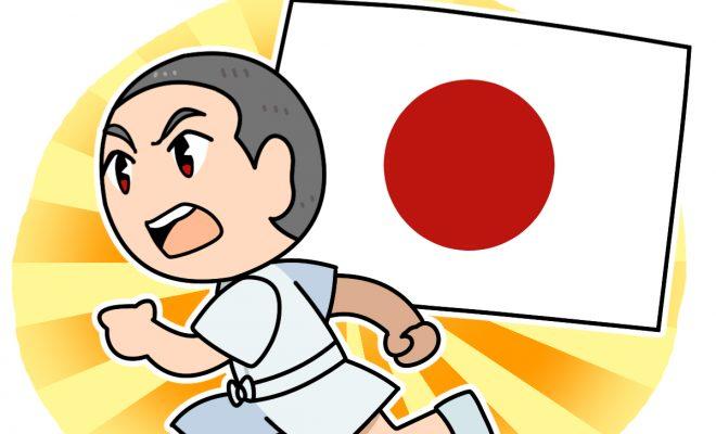 マラソン日本代表として走る中村勘九郎 いだてん