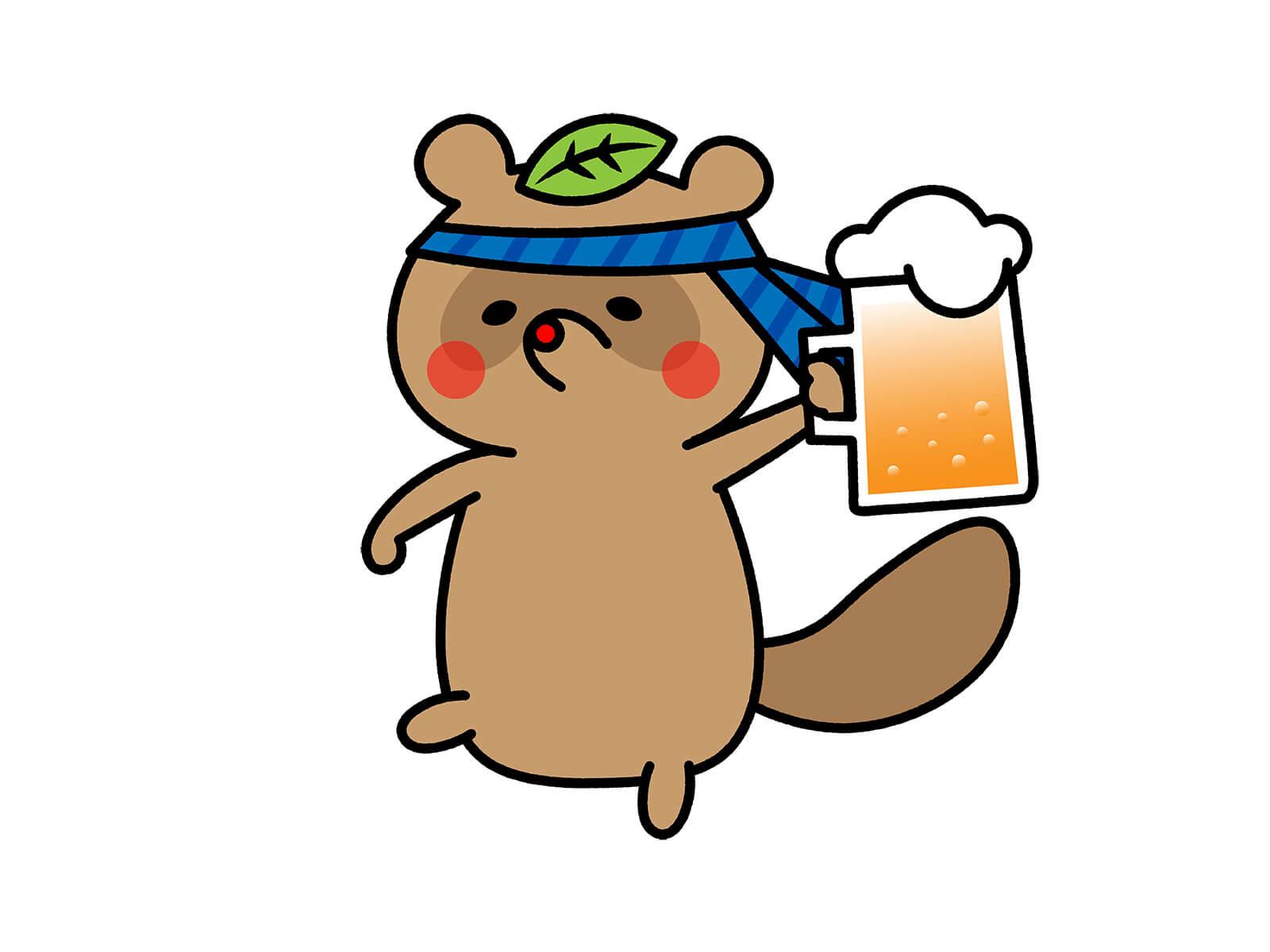 酒仙タヌキ