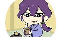 お茶を楽しむ明智光秀