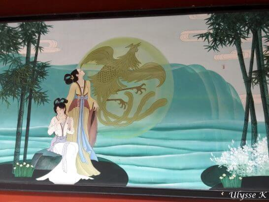 二妃図(二湘と湘山) / 写真提供:光月ユリシ