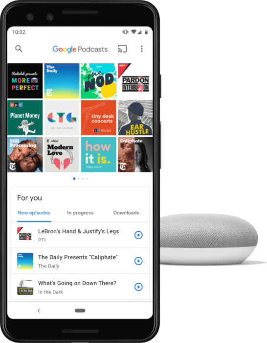 google-podcasts 引用
