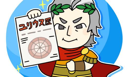カエサルが新しいユリウス暦を見せびらかす