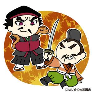 斎藤道三と戦をする織田信秀(加納口の戦い)