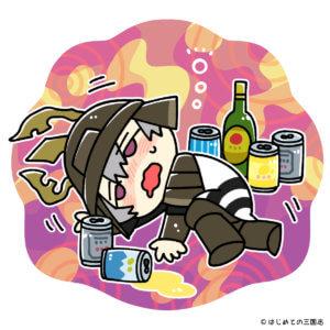 酒や遊びに溺れる小早川秀秋