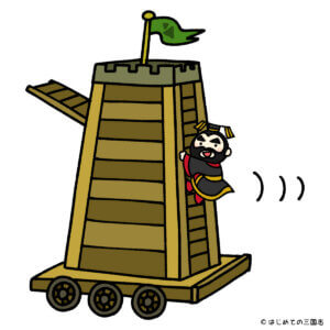 三国志の武器 井蘭車 始皇帝