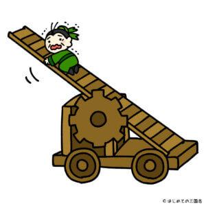 三国志の武器 雲梯車 劉備